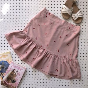Teen girls size 16 FREE by COTTON ON cherry skirt